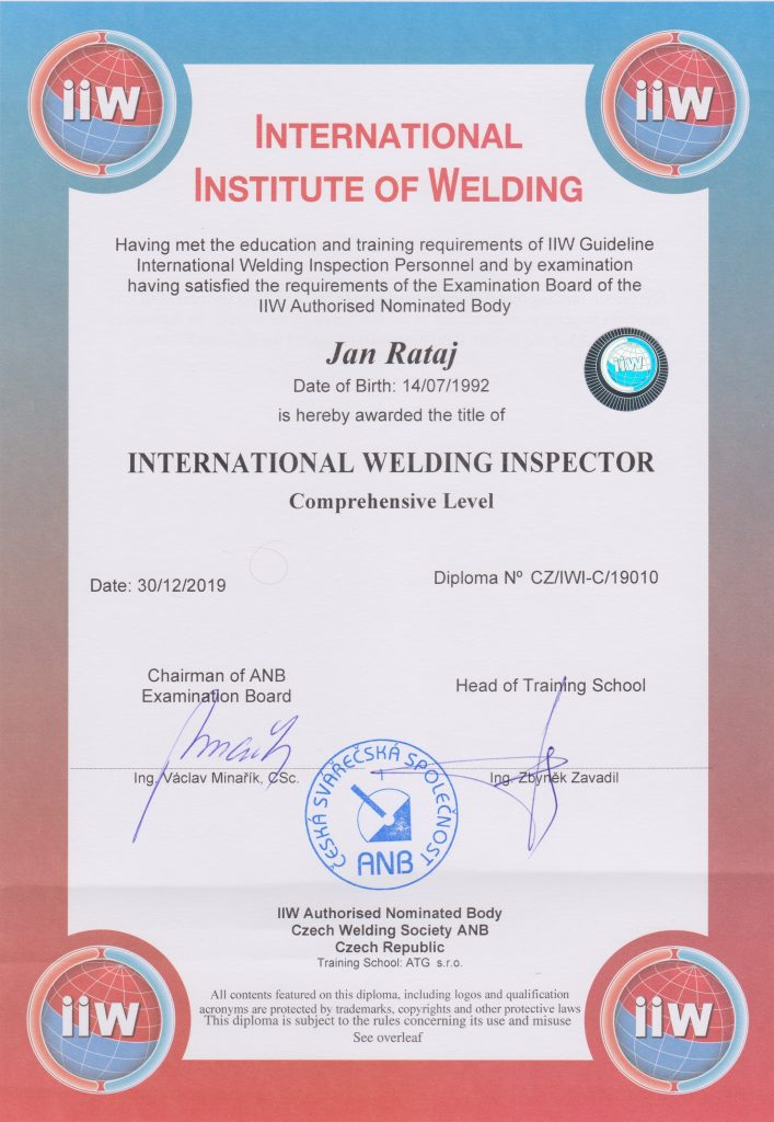 Mezinárodní svářečský inspektor